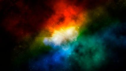 colored light