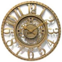 clock metal