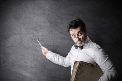 demanding teacher
